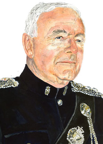 Portrait of HCol Ireland, QC by John Perry, CD