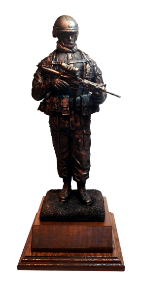 PPCLI 100th Anniversary Maquette by John Perry